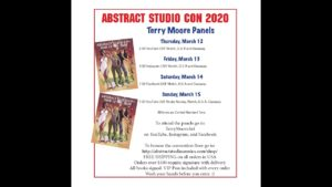 Terry Moore Live Panel for Abstract Studio Con
